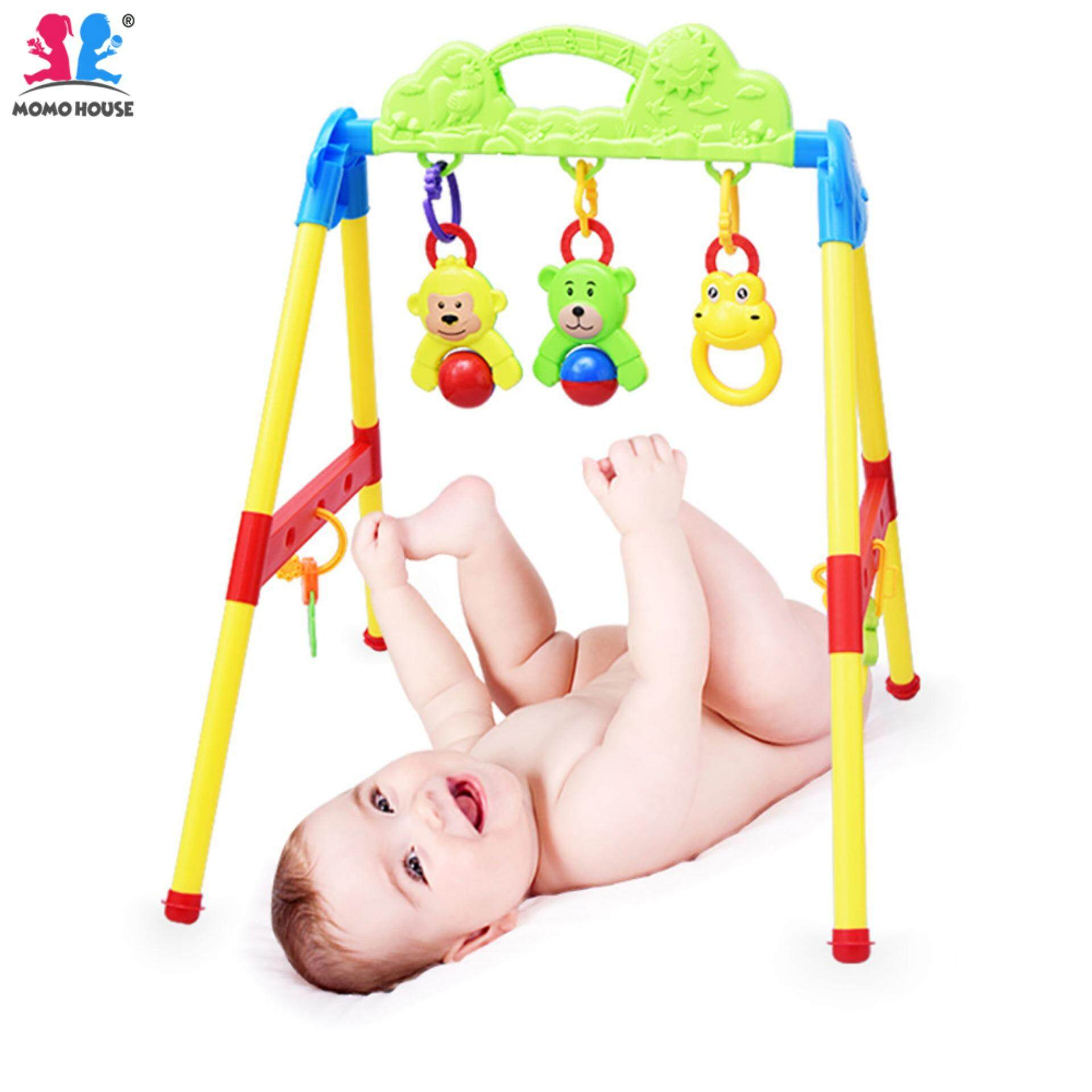 MOMO HOUSE Baby Toddler Activity Rattle Fitness Playgym Play Gym