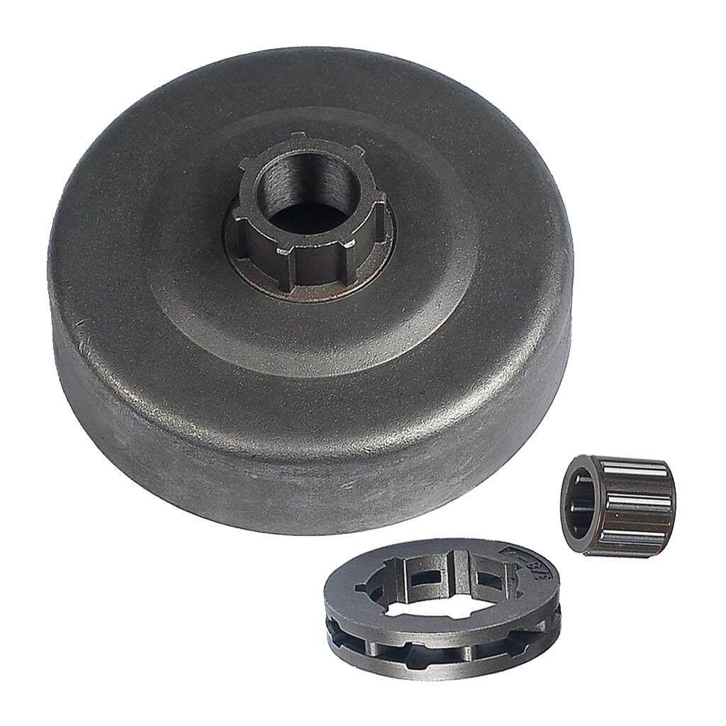 Dolity 3/8-7T Clutch Drum Rim Sprocket Bearing Kit for Stihl 066 MS660 Chainsaw