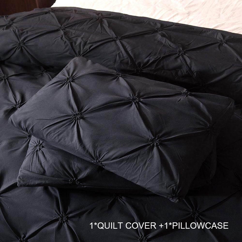 Bedding Sets Quilt Cover Luxury Black 7size Polyester Fiber New Duvet Cover Sets Bed Sheet
