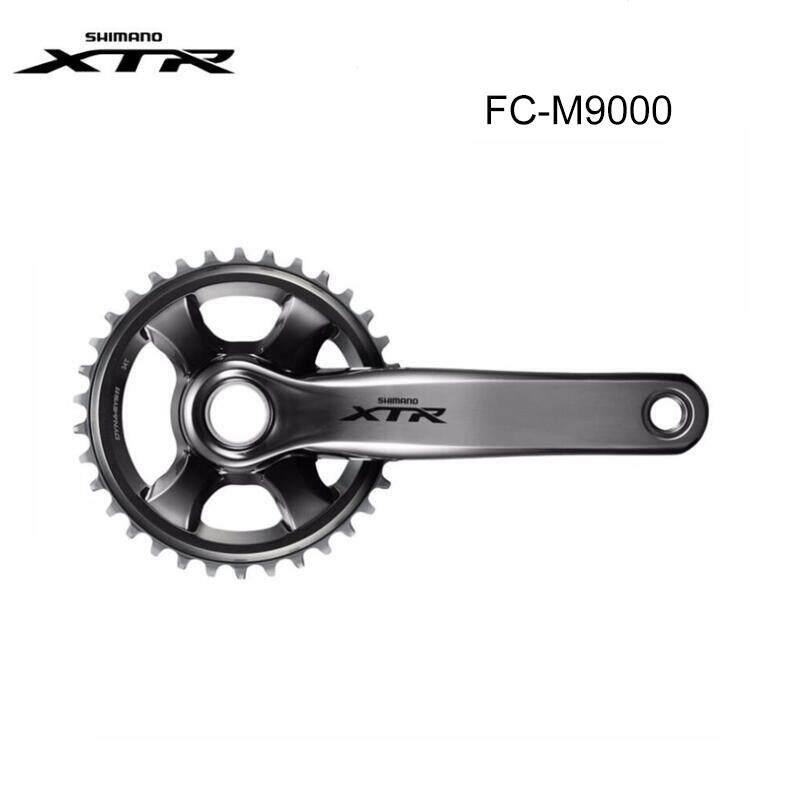 2x11 Speed Bike Crankset Shimano XTR FC-M9020 175mm 36//26 Grey MTB Race No BB