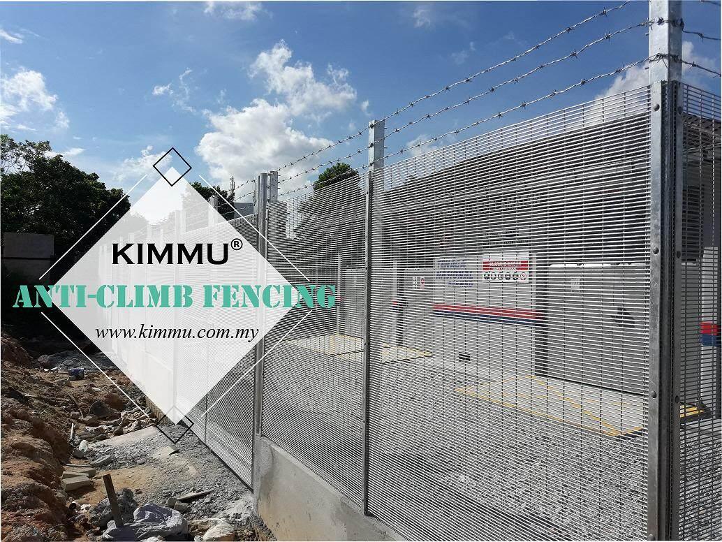 Top Notch Rigidity Anti Climb High Security Fencing (1800mm x 2400mm x 4mm)