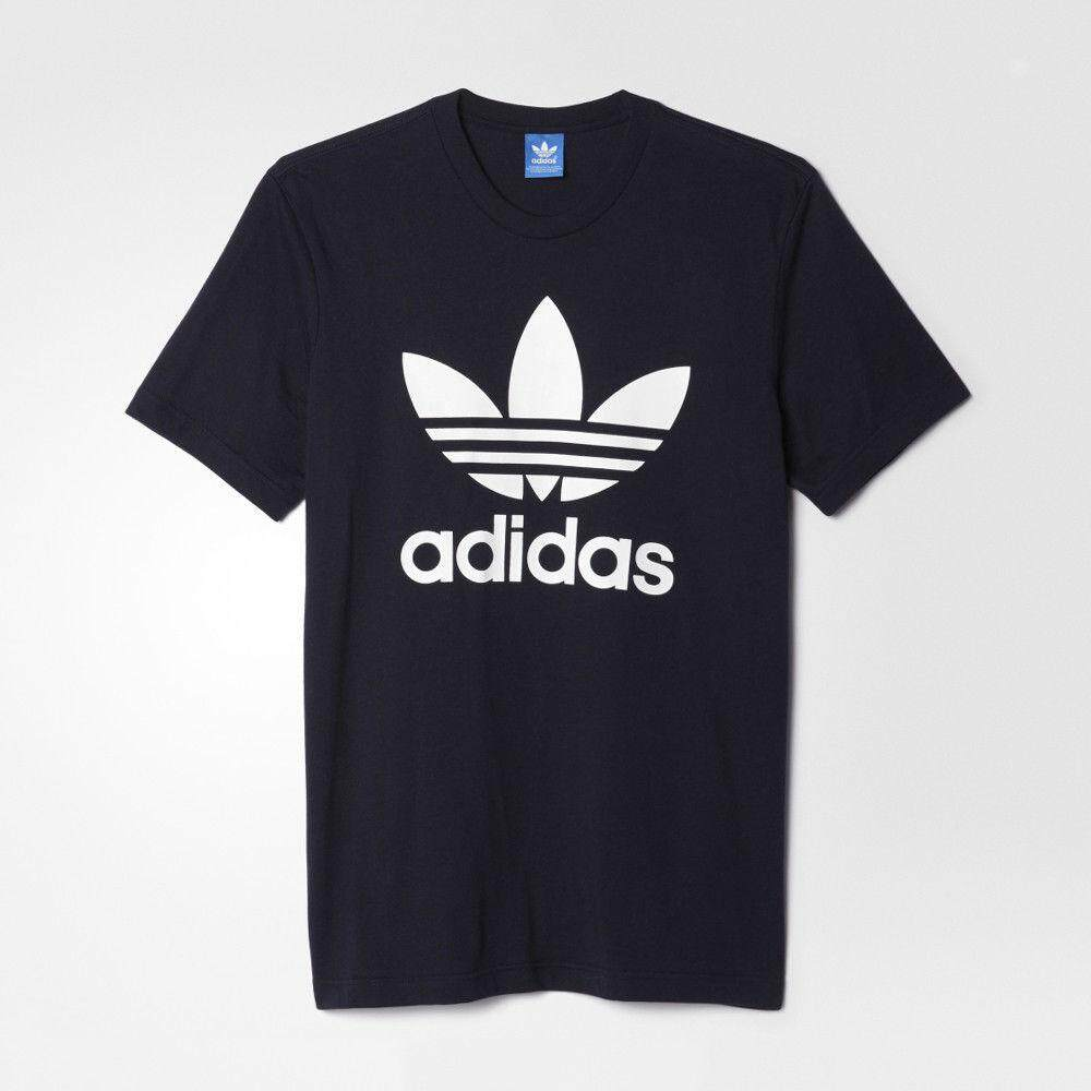 adidas Badge of Sport Box Emblem Graphic T Shirt Short Sleeve (For Men)