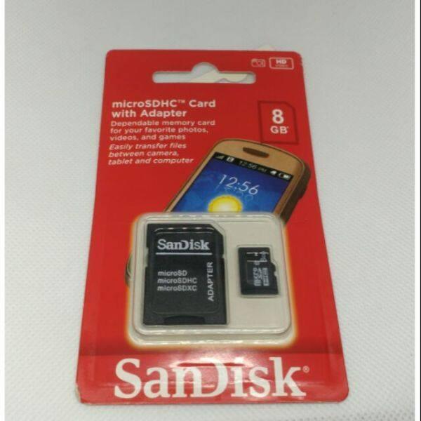 Giá Micro SD 8GB. Thẻ Nhớ