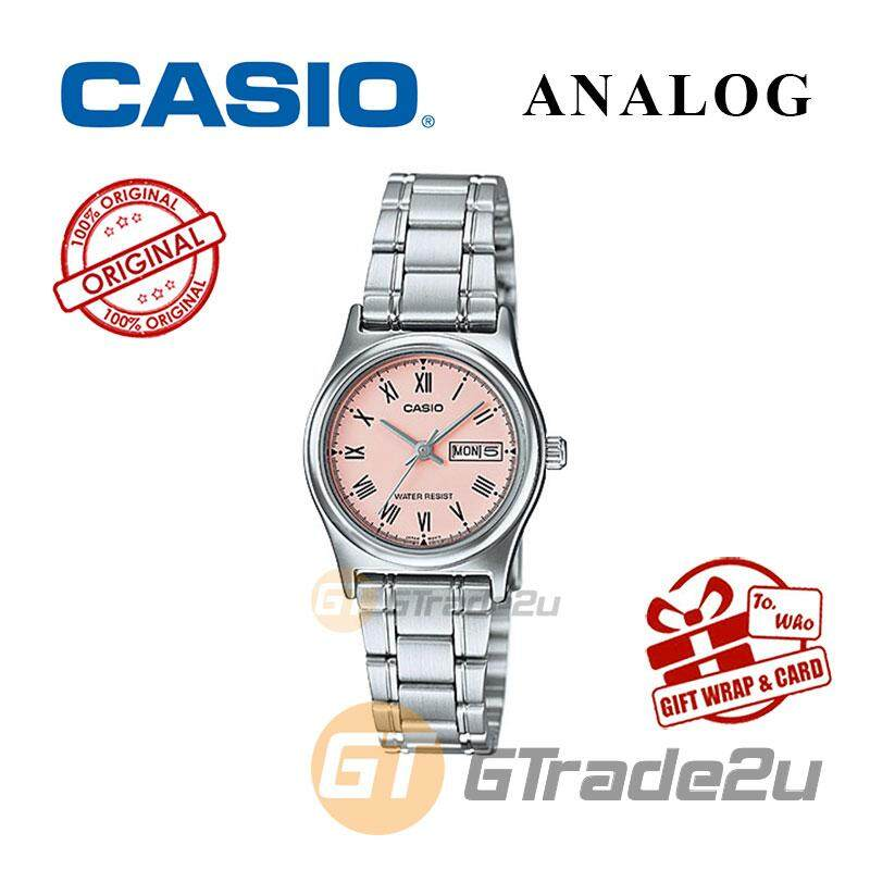 1cb15654f8c6 Casio Standard LTP-V006D-4BV Analog Ladies Watch - Day Date Display