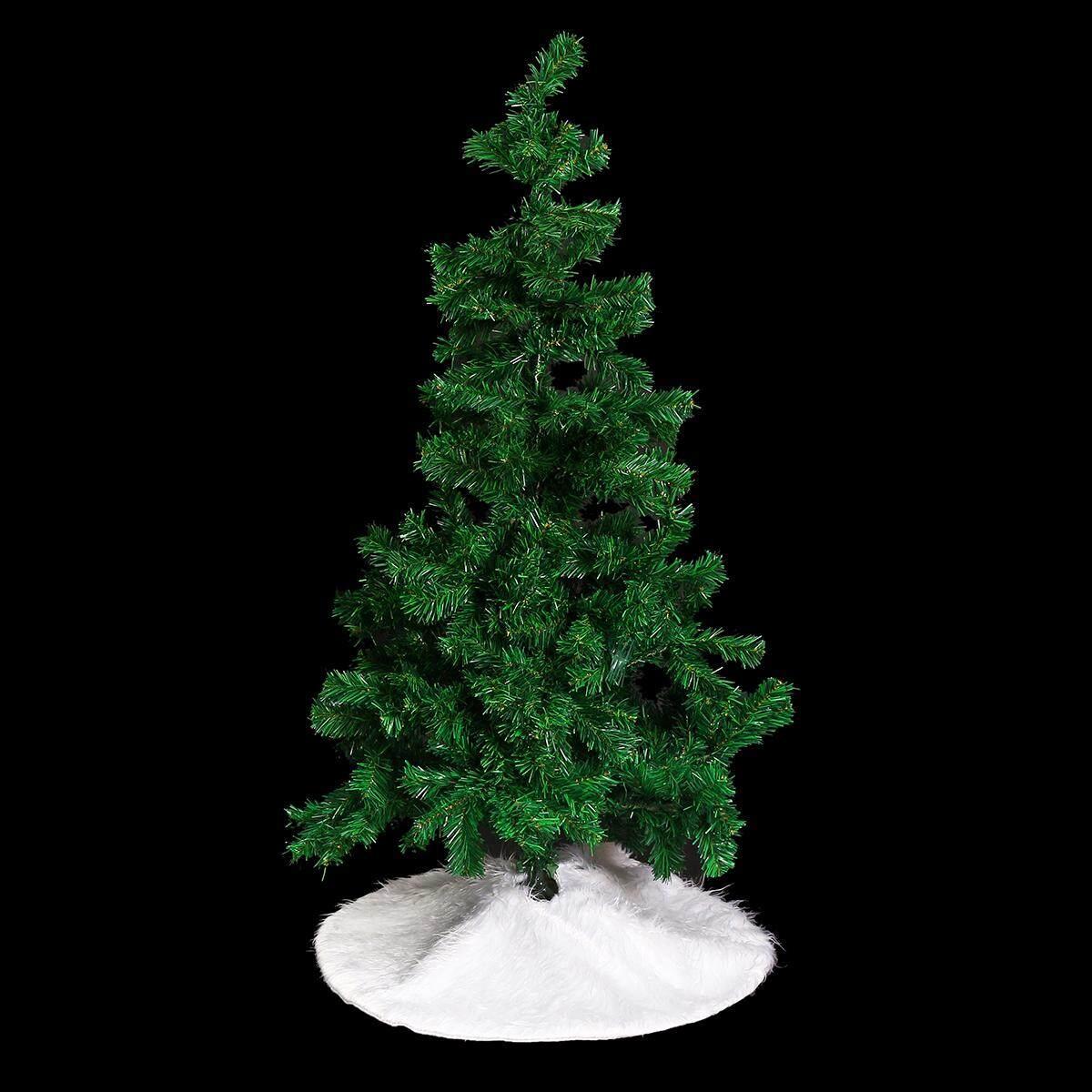 70cm Christmas Tree Soft Skirt Floor Mat Cover Plush Rug XMAS Party Home Decor7
