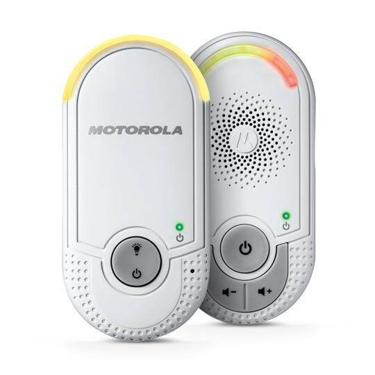 [Pre order] Motorola MBP8 Digital Audio Baby Monitor - White [ETA 4 working  days]