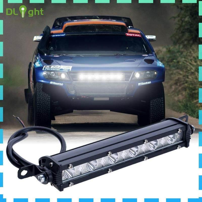 【Dlight】Đèn LED Làm Việc 18W 6000K Thanh Đèn Sương Mù Cho Xe Địa Hình SUV Xe Thuyền Xe Tải 4