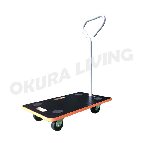 Okura Mini Multi-Functional Foldable Trolley Shopping Cart Folding Travel Luggage Carrier Aluminium Trolley Hand Truck Trolley Cargo Wheels 150kg Cart Heavy Duty Household Shopping Trolley / Dollies