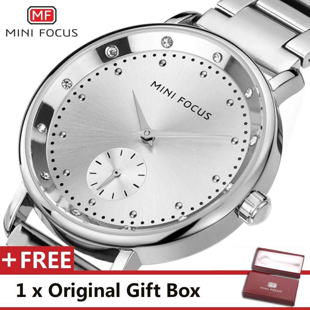 MINIFOCUS MINI FOCUS  MF0037L Top Luxury Brand Watch For women Fashion Woman Quartz Watches trend Wristwatch Gift For Female jam tangan wanita Malaysia
