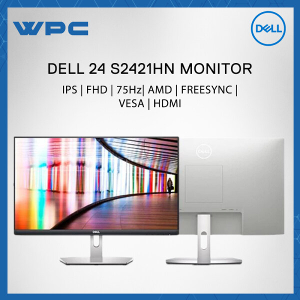 Dell 24 23.8 S2421HN AMD FREESYNC VESA IPS 75Hz HDMI FHD MONITOR - 3 YEARS WARRANTY Malaysia