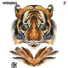 [Jettingbuy] Tiger Wolf Hình Xăm Tạm Thời Nam Nữ Cánh Tay Ngực Giả Hình Xăm Dán Không Thấm Nước