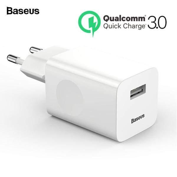 Baseus Sạc nhanh 24W 3.0 Sạc USB QC3.0 Sạc điện thoại di động cho iPhone X Xiaomi Mi 9 Máy tính bảng iPad EU QC Sạc nhanh