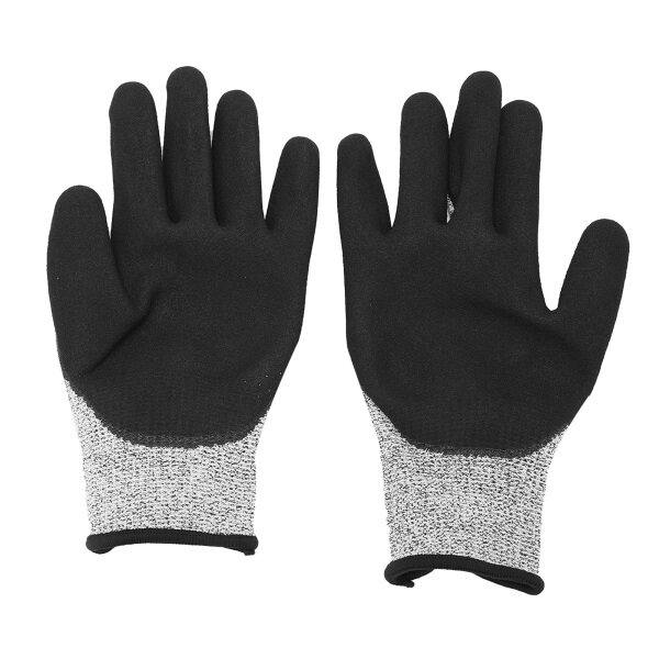 access control electric lock HPPE Gloves Level 5 Cut Proof Stab Resistant Protection for Working Kitchen Garden Cutting
