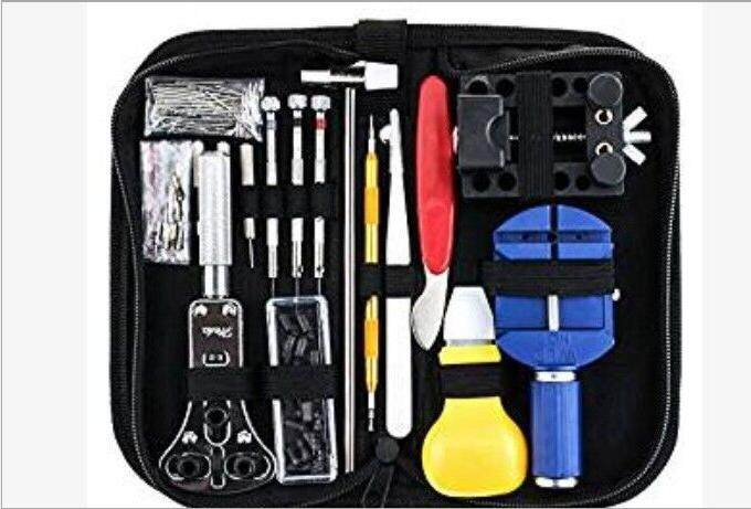 Local Stock 147 Pcs Watch Repair Tool Kit Watchmaker Back Case Opener Battery Cover Remover Watch Case Holder Opener Pin Link Remover Repair Tool Kit Malaysia