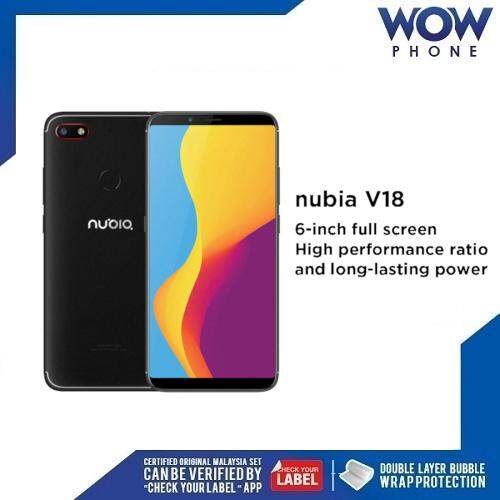[Ready Stock] Nubia V18 Original Handphone (4GB RAM / 64GB ROM) 1 Year Warranty by Nubia Malaysia!!