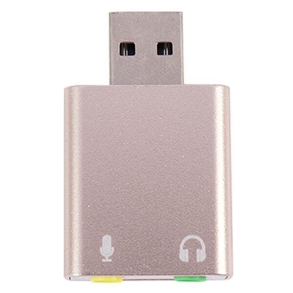 Giá Usb Sound Card 7.1 External Usb To Jack 3.5Mm Headphone Adapter Stereo Audio Mic Sound Card For Pc Computer Laptop