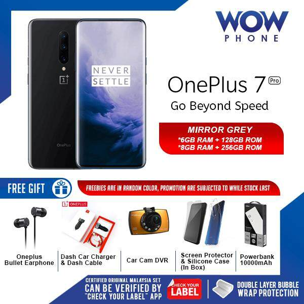 OnePlus 7 Pro (6GB RAM / 128GB ROM) ORIGINAL MALAYSIA SET!! 2 YEARS  WARRANTY BY ONEPLUS MALAYSIA!! EXCLUSIVE FREEBIES ONLY ON WOWPHONE!!