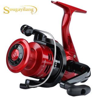 Sougayilang mới 5.2 1 bánh răng tỷ lệ Spinning Fishing Reel 4000 Series chống ăn mòn Hợp kim kẽm Drive bánh răng bánh xe câu cá cho nước ngọt và Salwater thumbnail