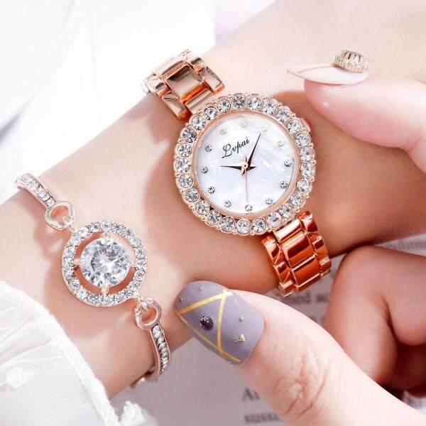 Lvpai Brand Luxury Bracelet Watches Set For Women Fashion Geometric Bangle Quartz Clock Ladies Wrist Watch Zegarek Damski Malaysia