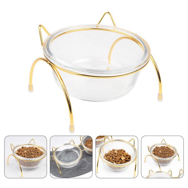 Sundom Bát Thức Ăn Cao Cho Chó Mèo, Bát Thiết Kế Nghiêng Thức Ăn Vật Nuôi Container