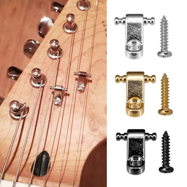 3 Colors Accessories Stringed Instruments 103mm Tree Guide Strings Retainer Roller String Trees Electric Guitar Parts Malaysia