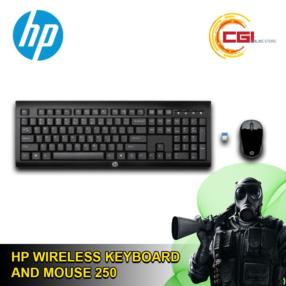 HP Wireless Keyboard and Mouse 250 - 6JU16AA Malaysia