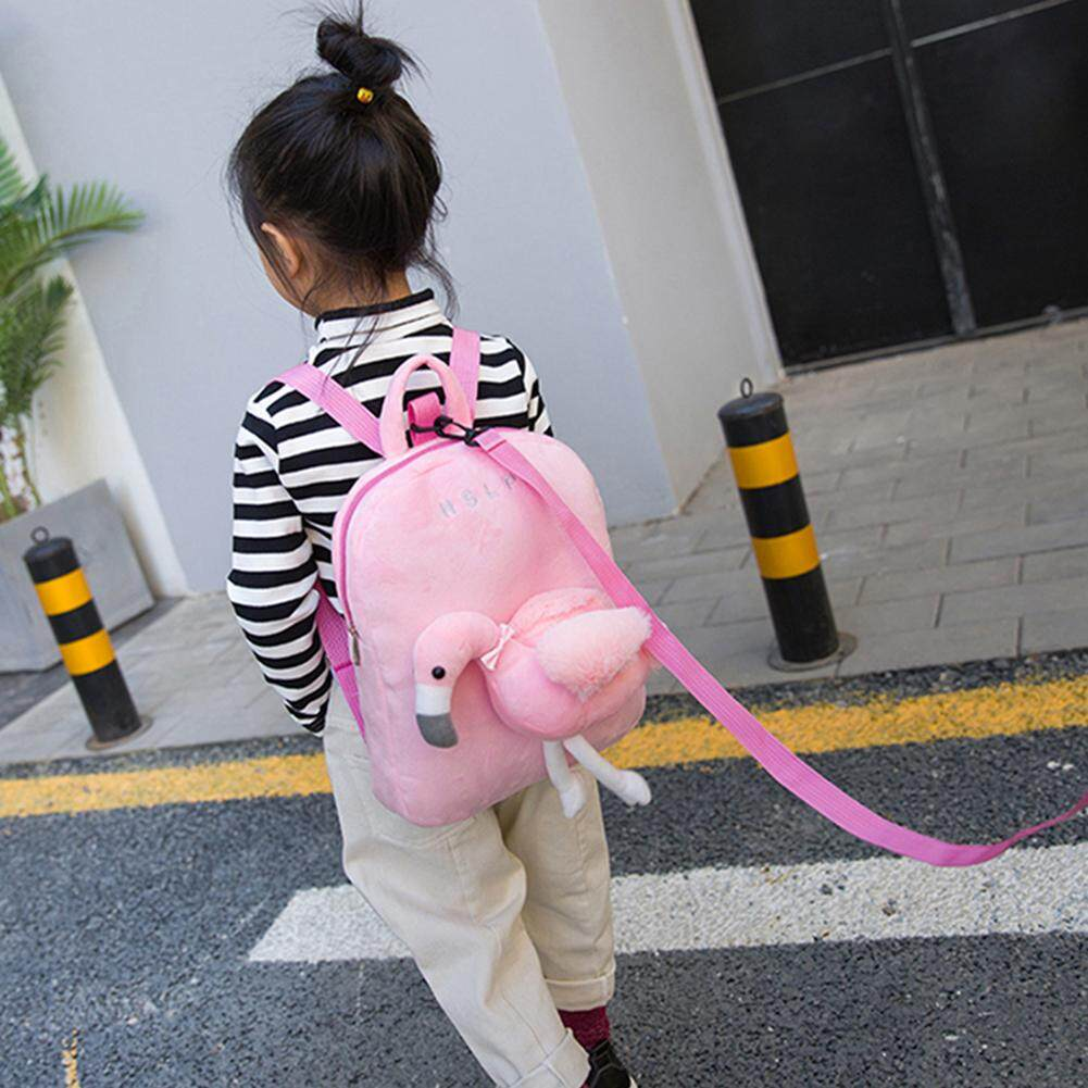 Giá bán Rovo-Cute 3D Unicorn Flamingo Backpack Children School Backpacks with Leash Safety Harness for Girls Boys