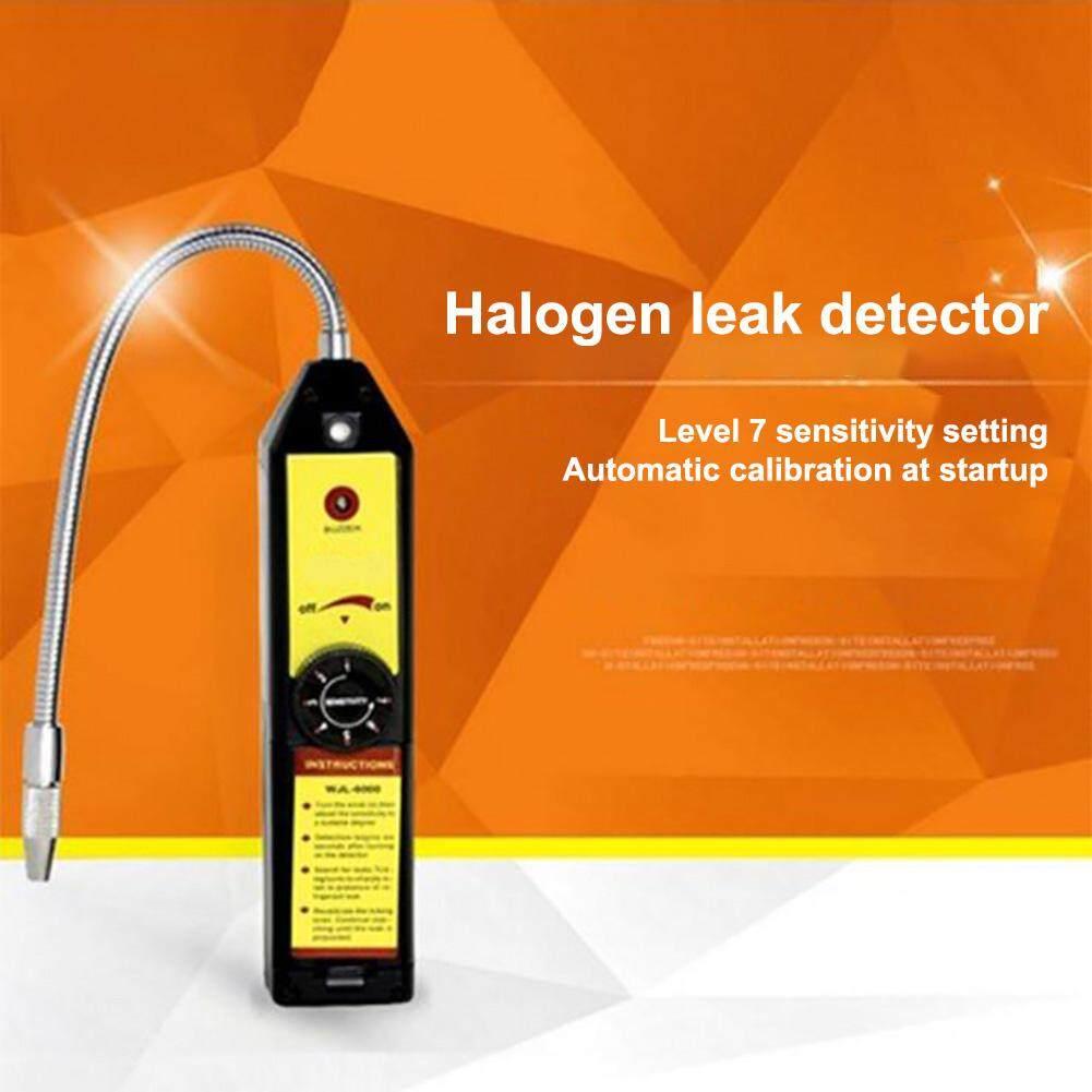 WJL-6000 Freon Thiết Bị Phát Hiện Rò Rỉ Halogen Chất Làm Lạnh Gas Rò Rỉ Bút Thử HVAC Điều Hòa R22 R410A R134A CFC