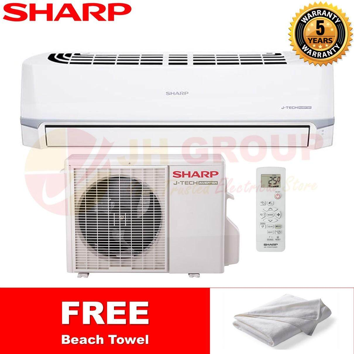 SHARP JAPAN AHX18UED / AUX18UED 2HP R410A INVERTER AIR CONDITIONER