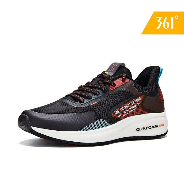 Giày sneaker thể thao chạy bộ cho nữ 361 Degrees đế chống mài mòn trơn trượt 582012216