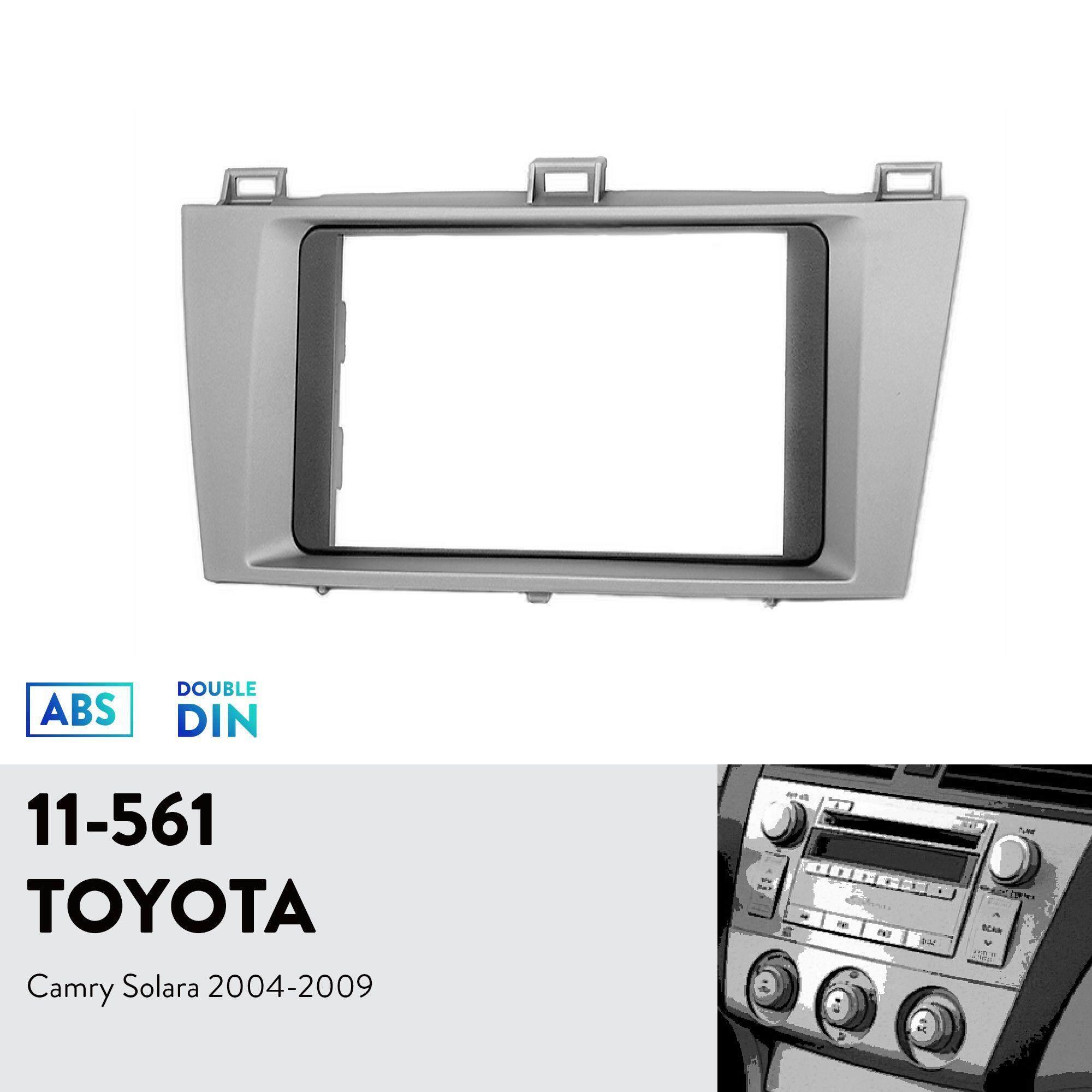 Ugar 11-561 Trim Fasia Radio Mobil Instalasi Pemasangan Perangkat Untuk Toyota Camry Solara 2004-2009 By Ugar.