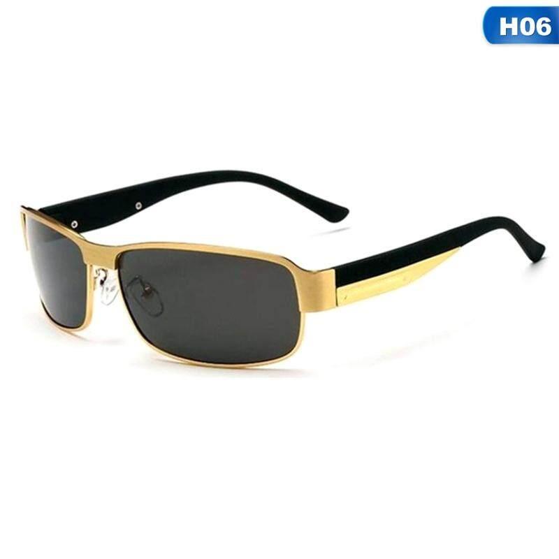 Polarized Mens Retro Pilot Pilot Sunglasses Driving Fishing Eyewear Glasses
