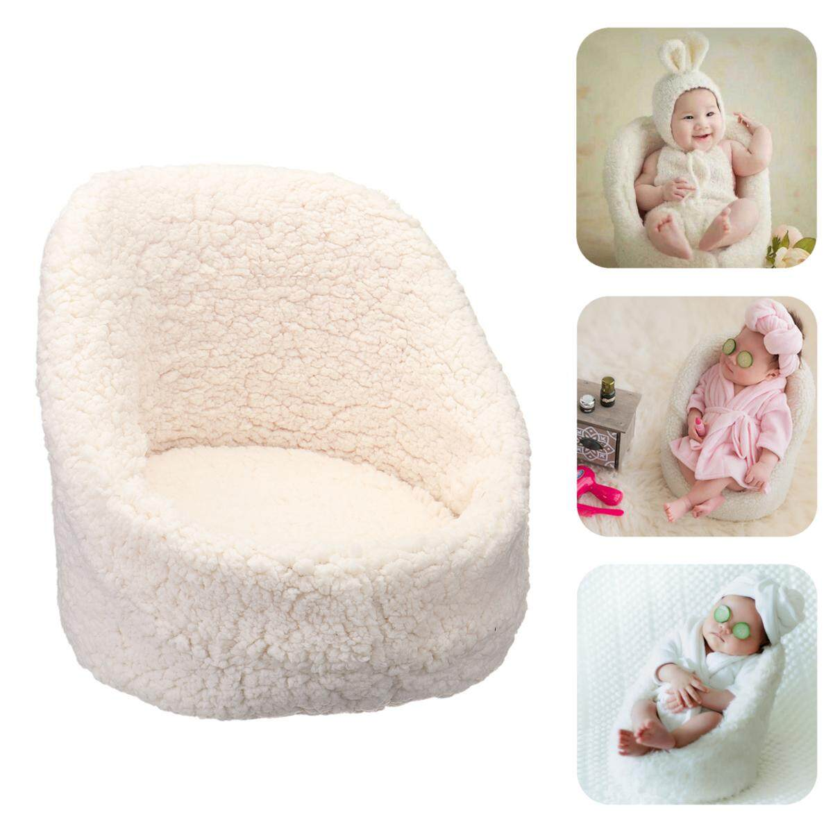 【free Shipping + Flash Deal】photo Props Small Sofa Seat Photography Shoot Aid For Newborn Baby Boys Girls By Freebang.