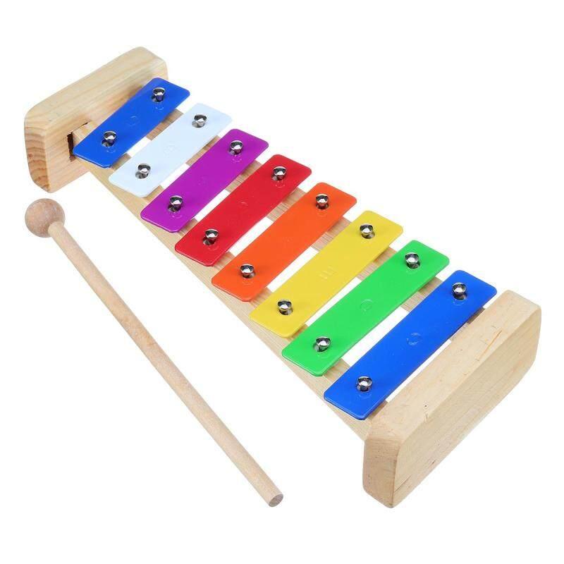 Gỗ 8 Hương Đàn Xylophone Dụng Cụ Âm Nhạc Trẻ Em Giáo Dục Trẻ Em Đồ Chơi Âm Nhạc # L