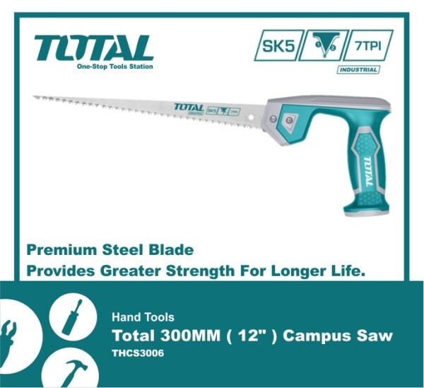 Hand Tools Total 300MM Campus Saw - THCS3006