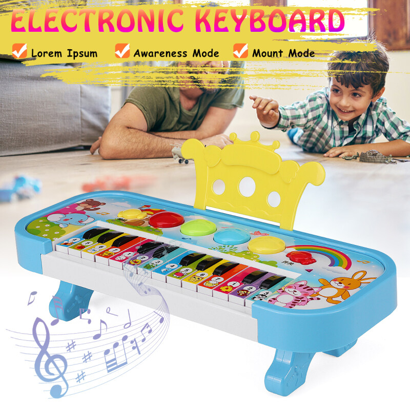 24 Keys Infant Electronic Piano Educational Toys Children Music Keyboard Gift Malaysia