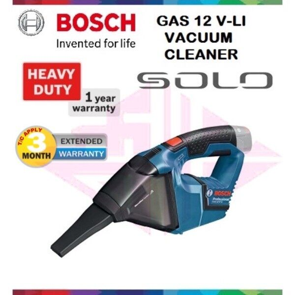 BOSCH GAS 12V-LI VACUUM CLEANER (SOLO)