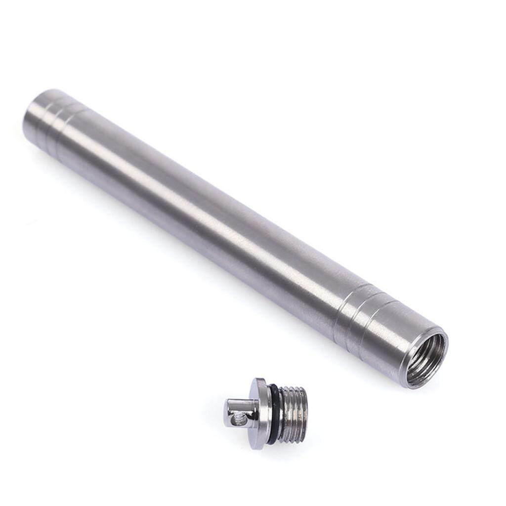 EDC Titanium Chống Nước Răng Ốp Lưng Bình Chứa Răng Đựng Tăm