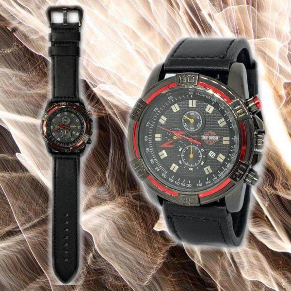DESiEL_LEATHER STRAP WATCH FOR MEN FULLY CHRONOGRAPH & DATE DISPLAY ROUND SHAPE WITH SPECIAL GIFT BOX FOR FREE Malaysia