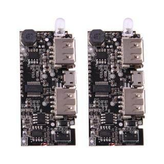 Sạc Dự Phòng Kép USB 5V 1A 2.1A, Sạc Pin 18650 Bảng Mô-đun PCB thumbnail