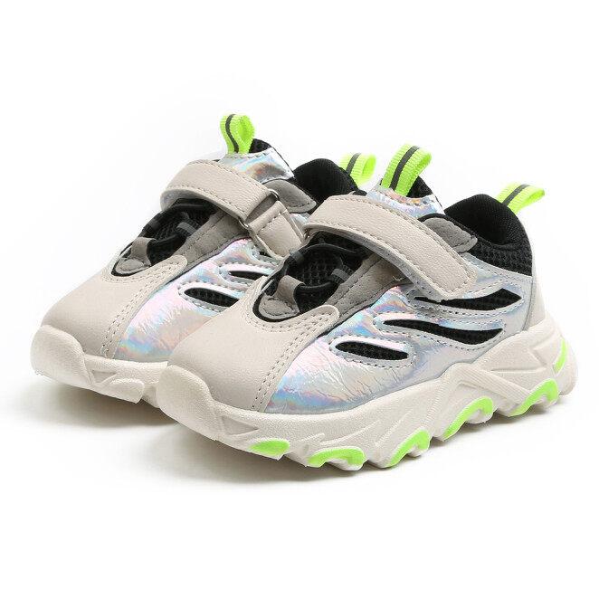 Giày Em Bé, Cô Gái Giày Thể Thao Chạy Bộ Cho Bé Trai Trẻ Em Tập Đi, Lưới Sneakers giá rẻ