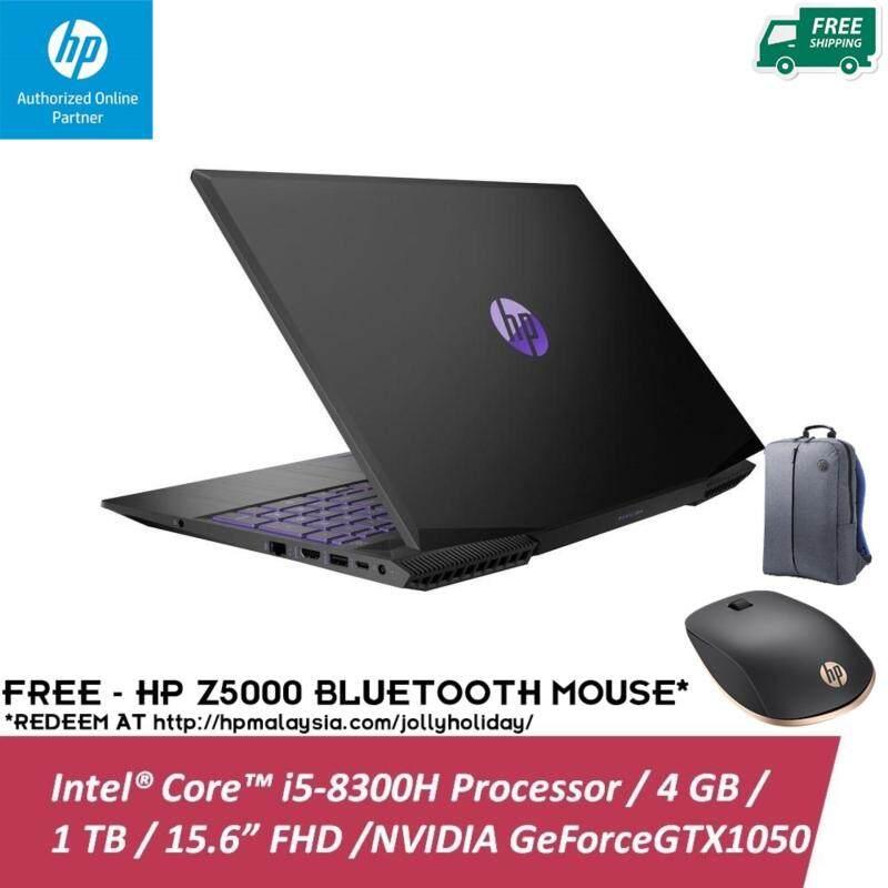 HP Pavilion Gaming 15-CX0078TX 15.6 FHD IPS Laptop Black ( I5-8300H, 4GB, 1TB, GTX1050 2GB, W10 ) Malaysia