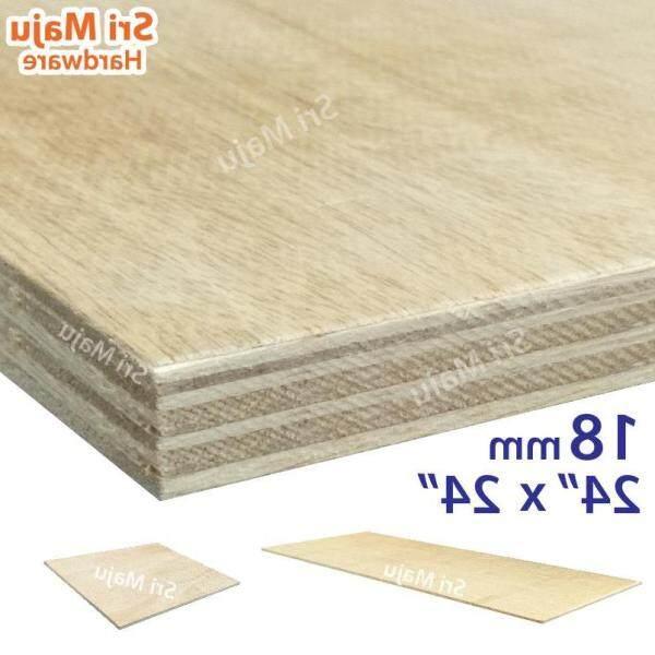✶✲  MAJU (2ft x 2ft) 18mm Plywood Timber Panel Wood Board Sheet Ply Wood Papan Kayu Perabot (dont COD)