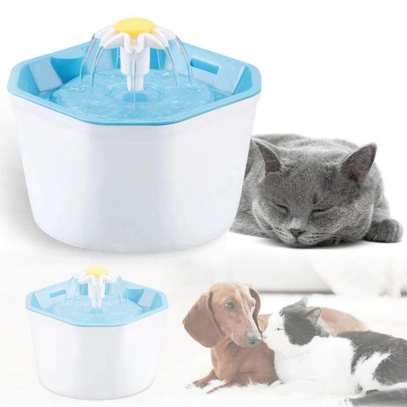 1.6L Tự Động Mèo Cưng Đài Phun Nước Siêu Êm USB Dog Trụ Uống Nước Máng Ăn Uống Bát Máy Phun Nước Uống Cho Thú Cưng Trụ Uống Nước Quả