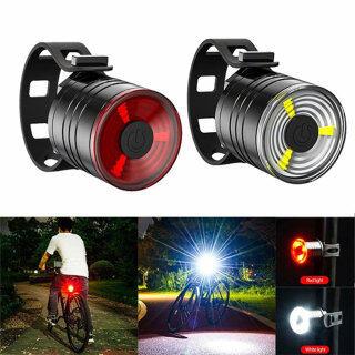 Đèn Hậu Xe Đạp Hợp Kim Nhôm, Đèn Cảnh Báo Đèn LED, Đèn Tín Hiệu Mới Liễu Lái Xe Ngoài Trời thumbnail