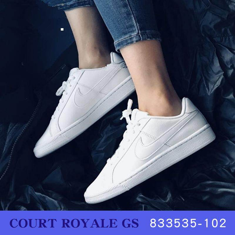 low priced 95688 f65aa Nike COURT ROYALE AC women s sports and leisure classic lightweight low-top  shoes AO2810-