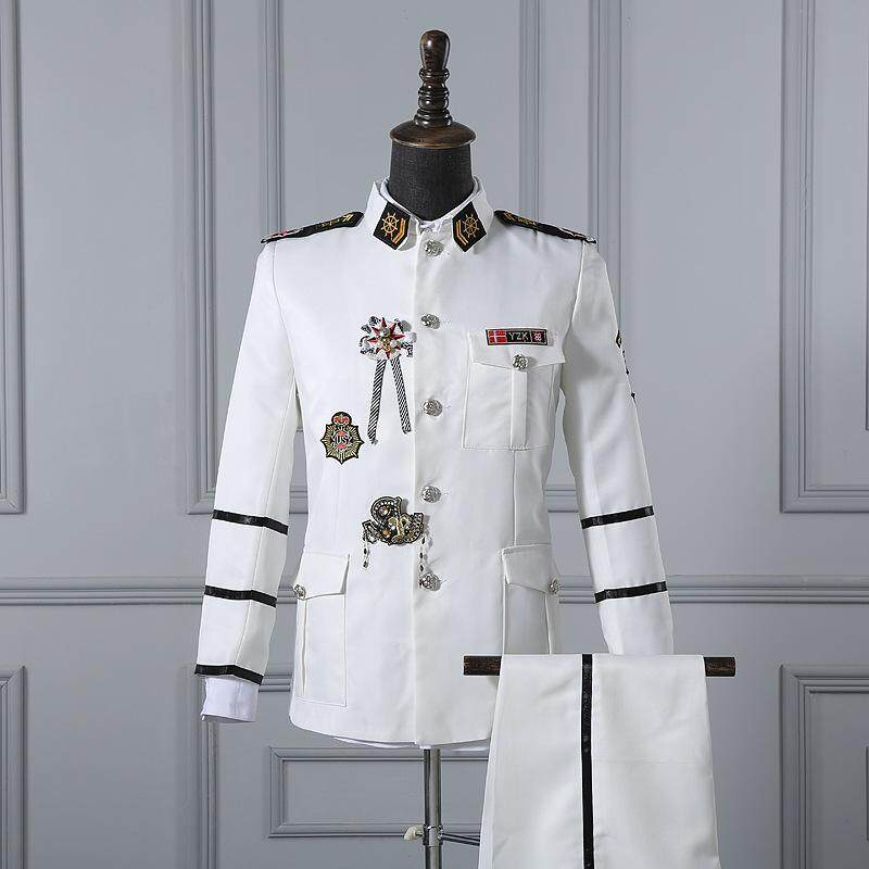 Navy performance uniforms navy chorus costumes men women sailors uniforms cultural art troupes costumes military uniforms