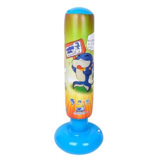 Túi Đấm Bốc 1.25M, Trẻ Em Trẻ Em Inflatable Bao Cát, Đồ Chơi Giải Nén Màu Vàng Màu Xanh thumbnail