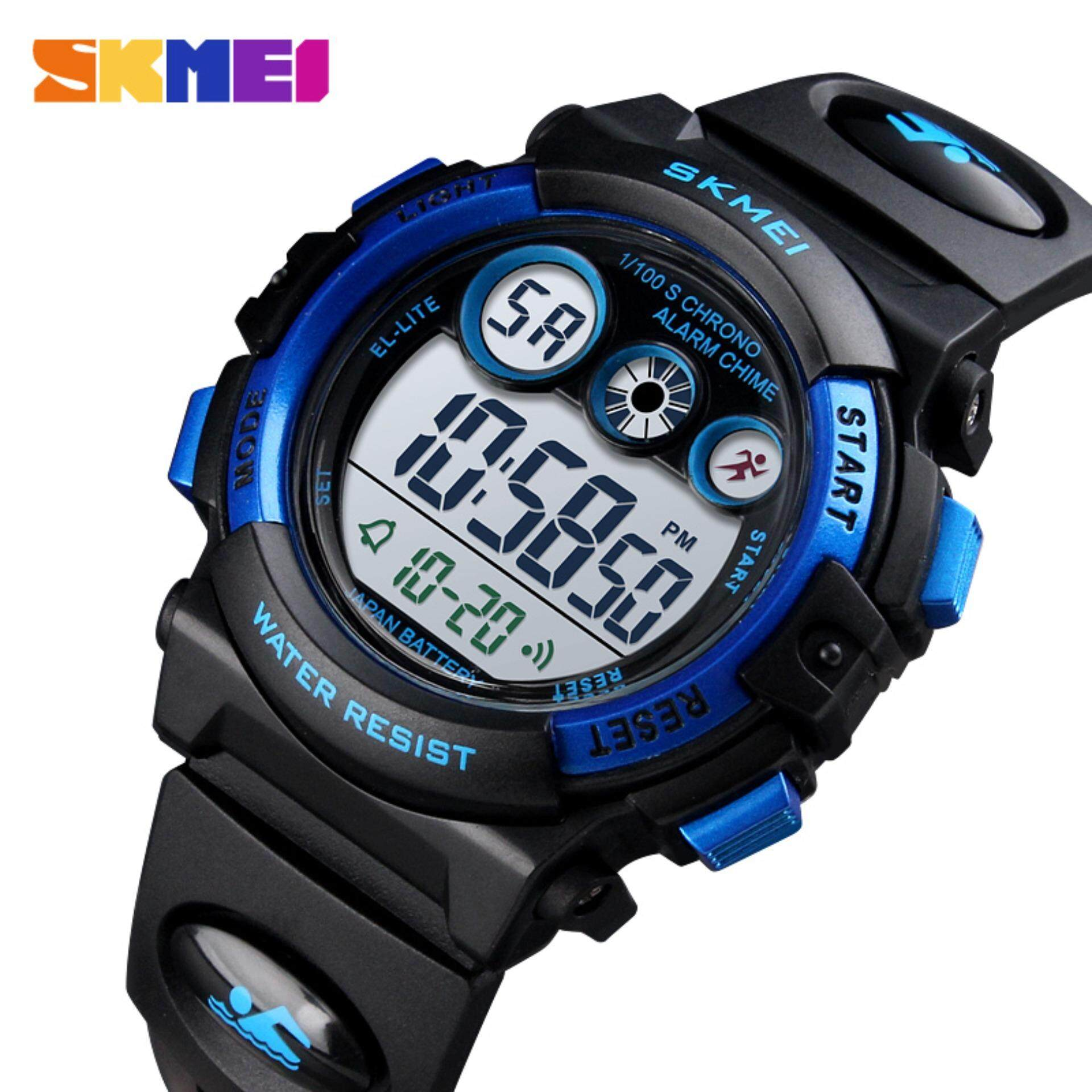 [11.11 Mega Offer] SKMEI Brand Sport Children Watch Waterproof LED Digital Watches Multifunction Sports Electronic Watch for Kids Boys Girls Gifts 1451 Malaysia