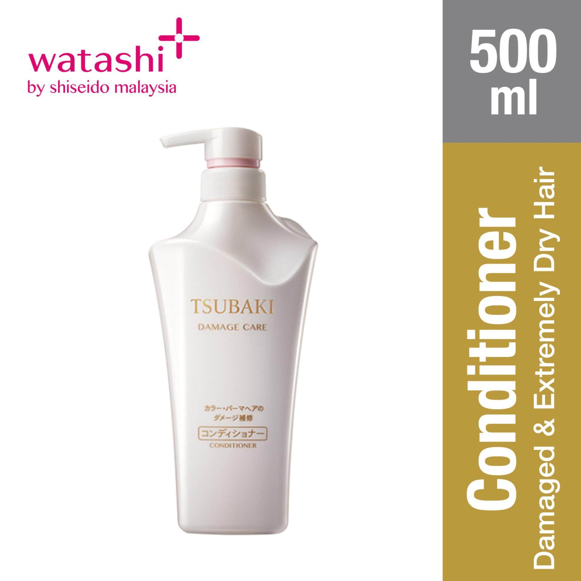 Tsubaki Damage Care Conditioner 500ml By Jbeauty By Shiseido.